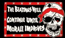 PIRATE BEATINGS - 5 X 3 FLAG